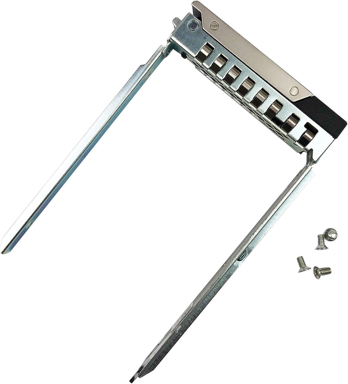 "2.5"" SAS SATA Hard Drive Tray Caddy Compatible with DELL GEN 14 POWEREDGE Server R440 R640 R740 R740xd R940 R6415 R7415 R7425 Hot Swap Bracket DXD9H"