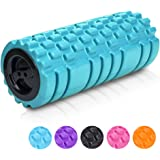 """Longans Foam Rollers & Trigger Point Roll For Deep Tissue Muscle Massage & Myofascial Release, Aching Back and Leg 13""""x5"""" - for Yoga Foam Roller"""