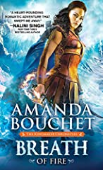"""A  USA Today bestseller!                       """"Breath of Fire is a heart-pounding and joyous romantic adventure. Amanda Bouchet's talent is striking.""""—NALINI SINGH, New York Times bestselling author                       I AM..."""