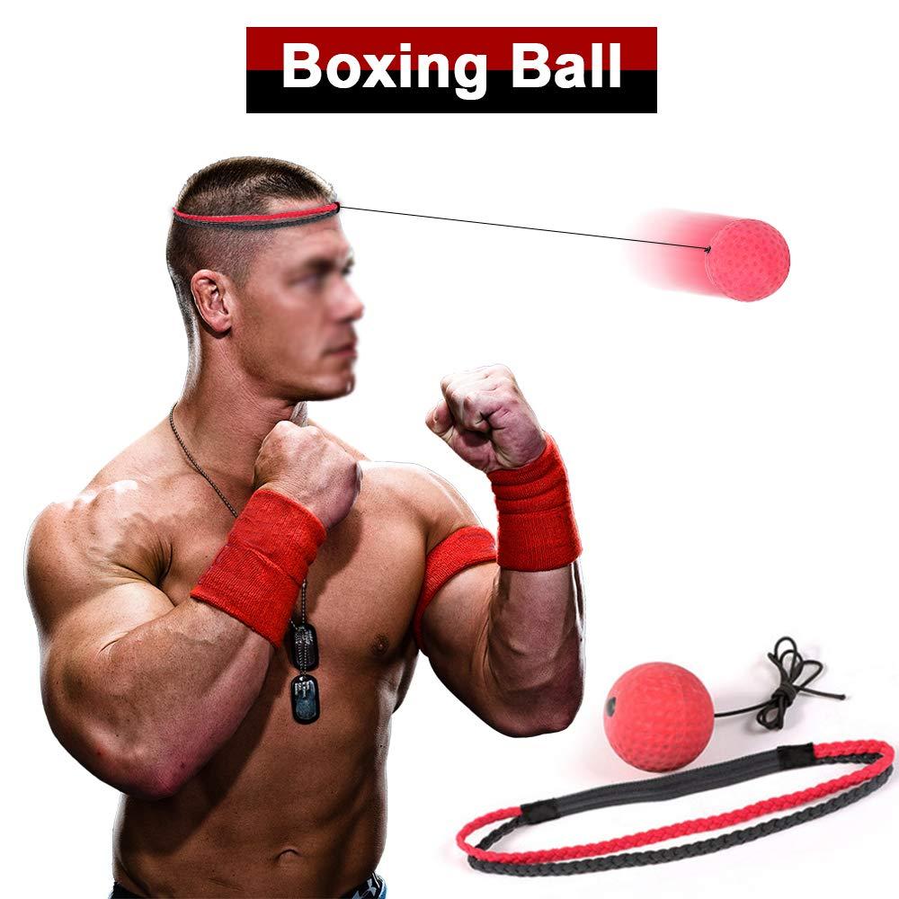 Reflex Speed Trainer Ballon dentra/înement de r/éponse rapide Accessoires Myfei /équipement de boxe Fight Ball