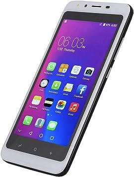 garsent 3G MóViles Y Smartphones Libres,5.0 Pulgadas Pantalla Completa con Pantalla HD Procesador-Dual Sim,2gb Ram + 16gb ROM-2.0Mp Dual HD CáMara-3000Mah BateríA-Android 6.0-Desbloqueo Facial(White): Amazon.es: Electrónica
