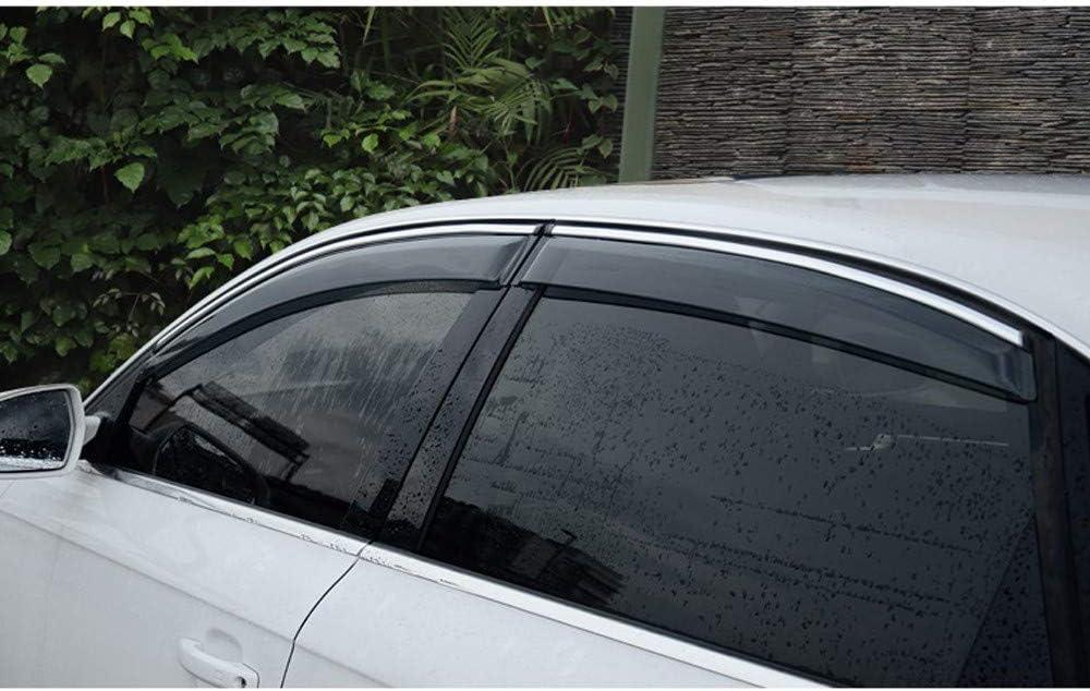 4 Piezas Xtrdye Deflectores De Viento para Autom/óviles Compatibles con La Ventana Lateral De La Puerta De Vidrio Acr/ílico Honda XRV Visera para El Sol Protector contra