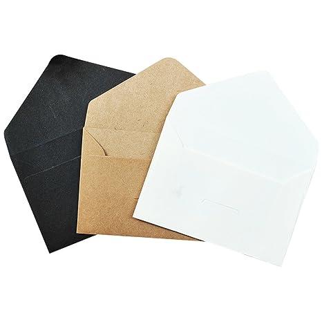 Amazon.com: RAINCY 120 piezas de invitación sobres tarjeta ...