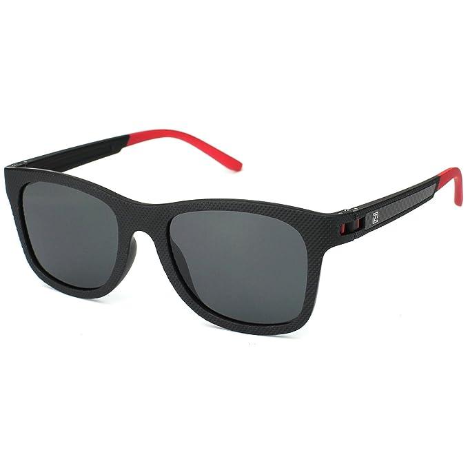 ZENOTTIC Moda Para Hombre Gafas De Sol Polarizadas Reflectantes Lentes de Espejo Mujer TR90 Monturas: Amazon.es: Ropa y accesorios