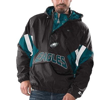 5d3cbf3b Amazon.com : Philadelphia Eagles Starter Vintage Enforcer Hooded ...