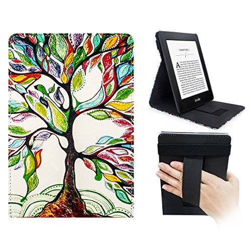 WALNEW Amazon Kindle Paperwhite Standing Cover Multi-Viewing Kindle...