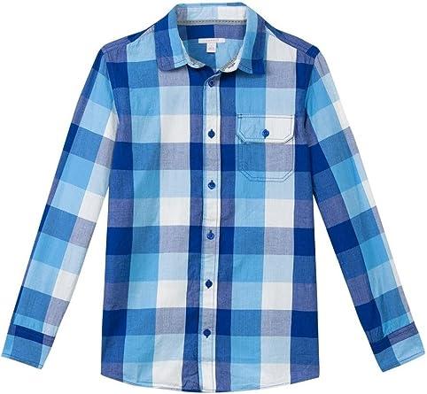 Esprit Camisa Cuadros Azul XL Azul: Amazon.es: Ropa y accesorios