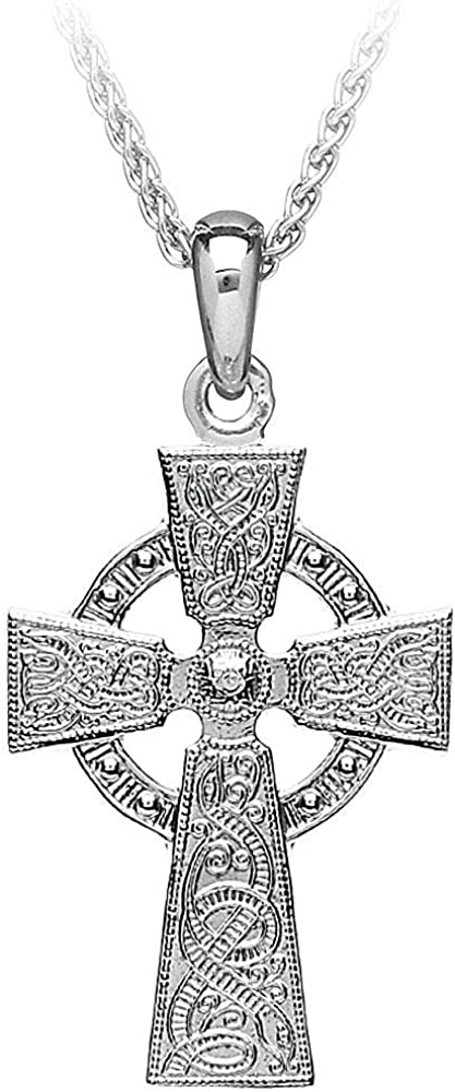 New 0.925 Sterling Silver Viking Warrior Pendant
