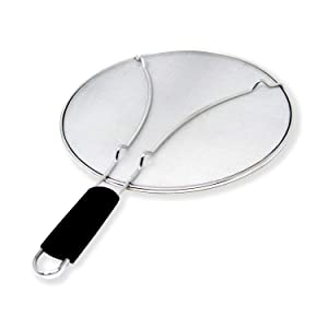 Alpha Living 60113 Splatter Guard for Frying Pan, 13 inch