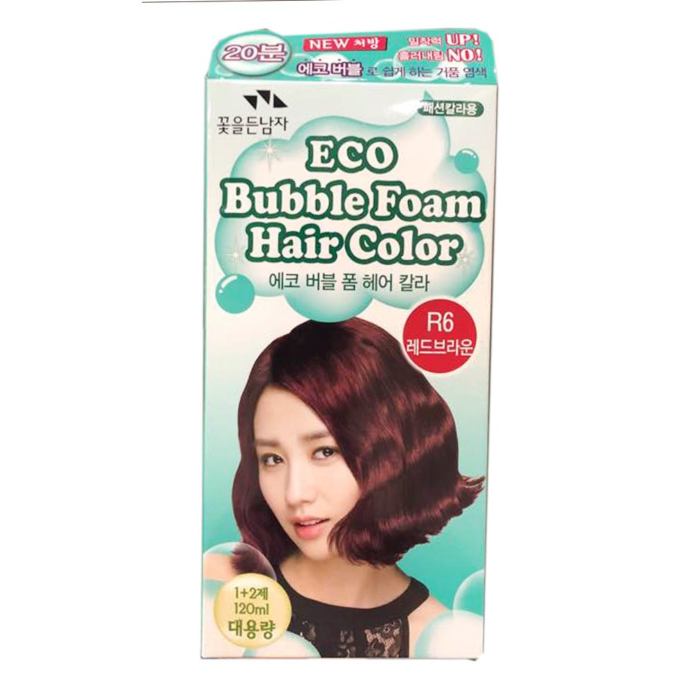 SOMANG ECO BUBBLE FOAM HAIR COLOR ( RED BROWN R6 )