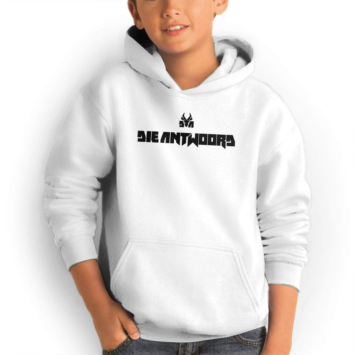 AlvinGuy Youth Boys and Girls Die Antwoord Pockets Jackets Sweatshirts Hoodies Hooded by AlvinGuy
