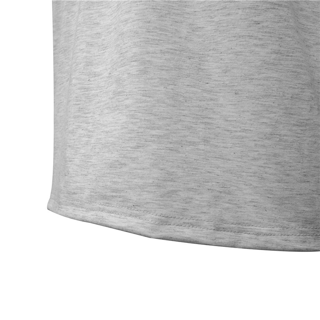 Mens Short Sleeve Casual Slim T-Shirt Sport Tops Fathers Day Henley Shirts Teresamoon