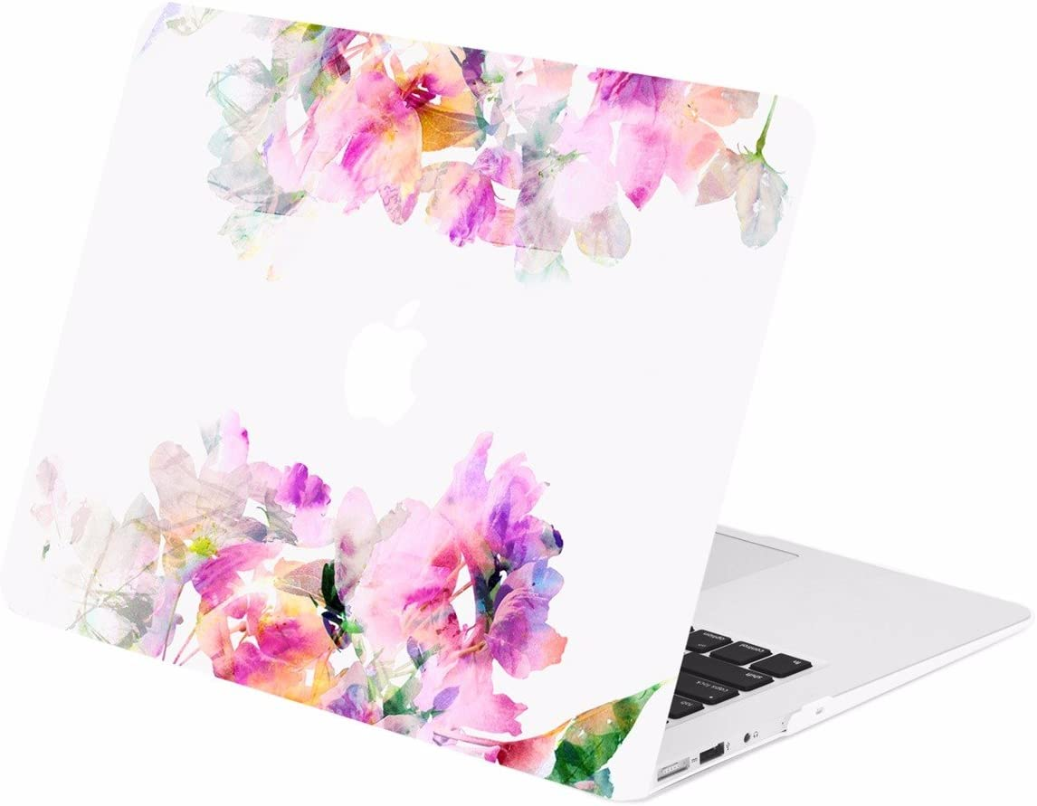 Cute Elephant And Flowers Custom Sleeve//Soft Case Bag//Pouch Skin for Macbook Air 11(Two Sides)