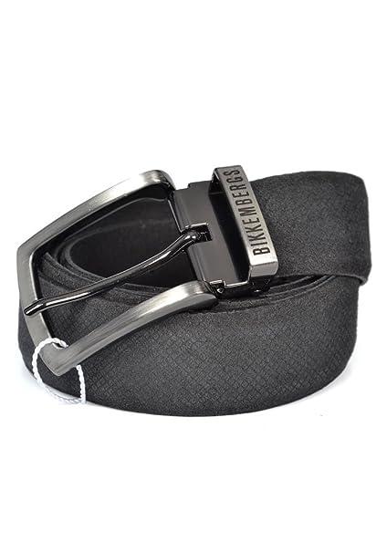 stile classico vendita ufficiale negozio di sconto Bikkembergs - Cintura - Uomo nero nero Large: Amazon.it ...