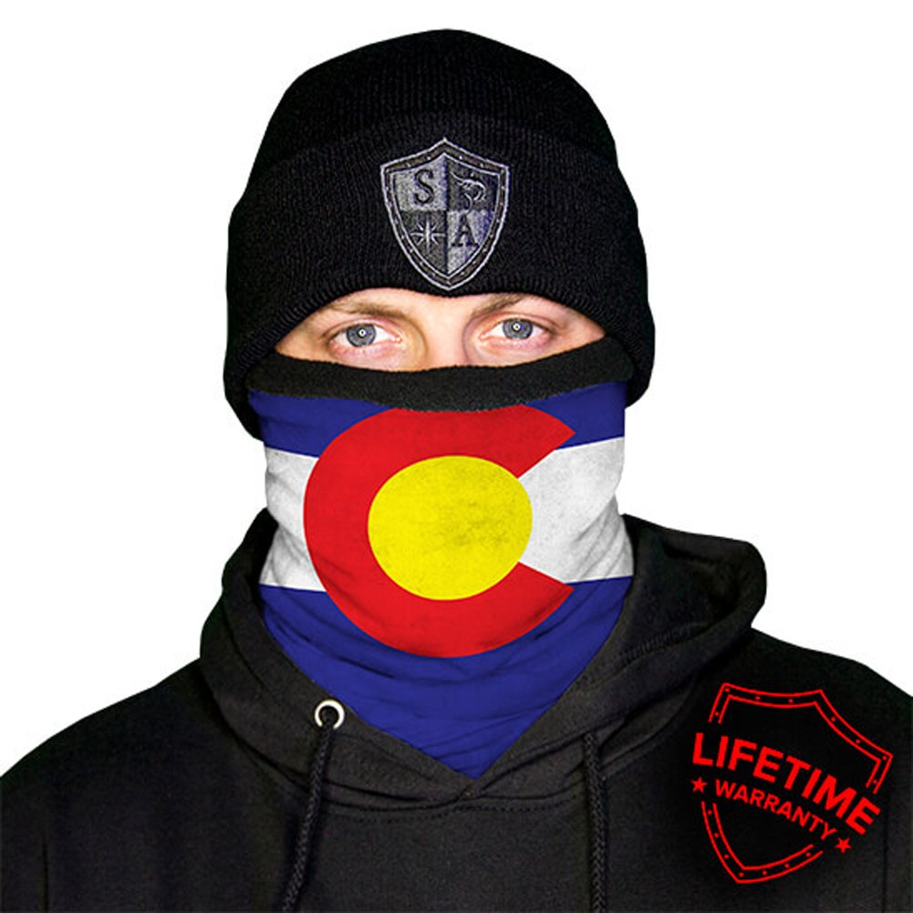 SA Company Fleece Face Shield Works as Balaclava Colorado Salt Armour