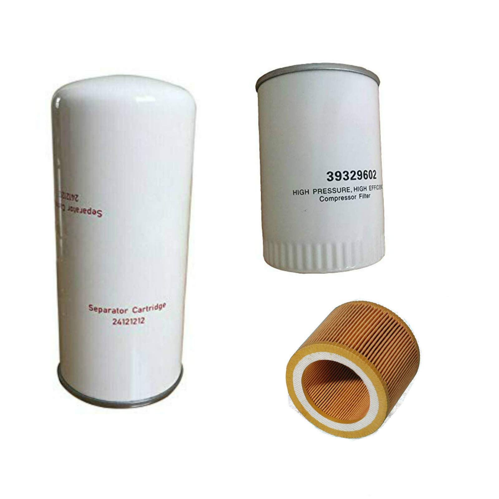 24121212 Air Oil Filter Kit 39329602 for Ingersoll Rand Compressor Maintenance kit 88171913 UP5 by FILME
