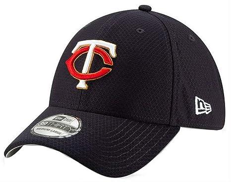 outlet store c96c4 1a1cb New Era 2019 MLB Minnesota Twins Bat Practice Home Hat Cap 39Thirty (M L
