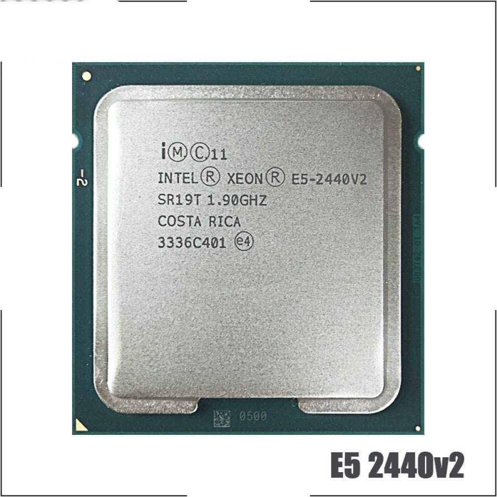 Intel Xeon E5-2440v2 E5 2440v2 E5 2440 V2 1.9 GHz Eight-Core Sixteen-Thread CPU Processor 20M 95W LGA 1356