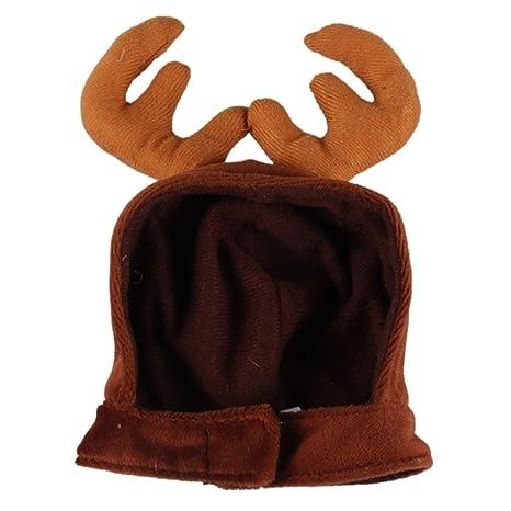 cintur/ón el/ástico con Gorro de Pap/á Noel para Navidad Everpert Adorno de Navidad para Mascotas
