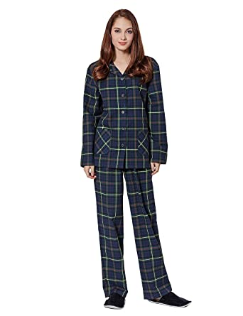 387a4cb2bd Soft Flannel Cotton Pajamas for Women