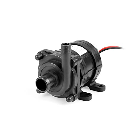 TSSS Brushless Mini Bomba de agua 600L/h DC 12 V 18 W Submersible amphibisch
