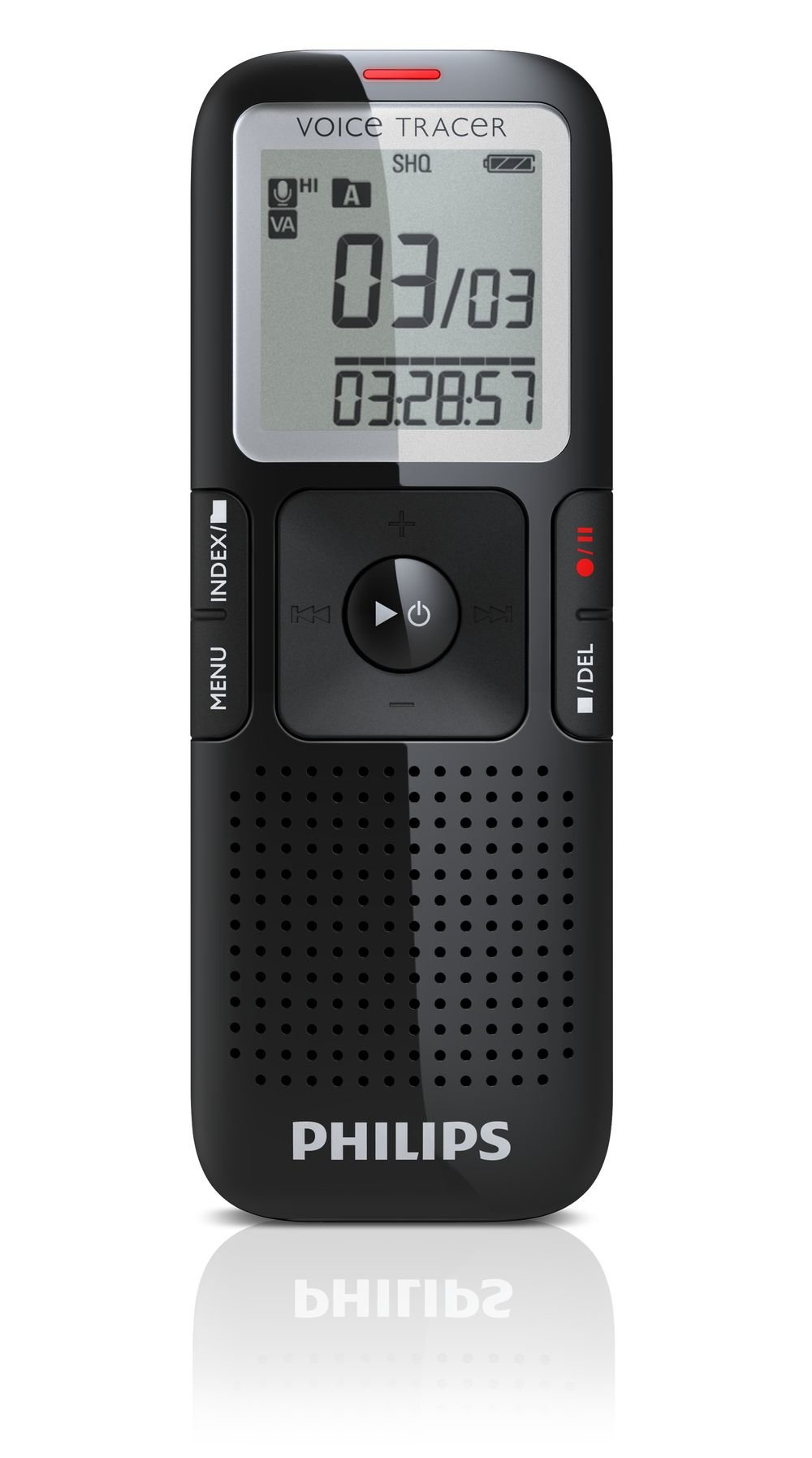 Philips LFH0632/27 Digital Voice Tracer Recorder 632 (Black)