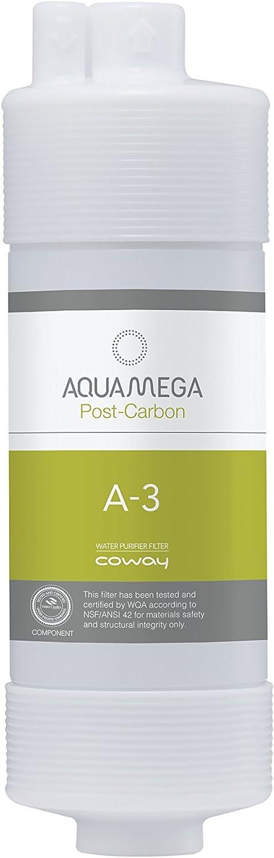 White Coway Aquamega Replacement Filter