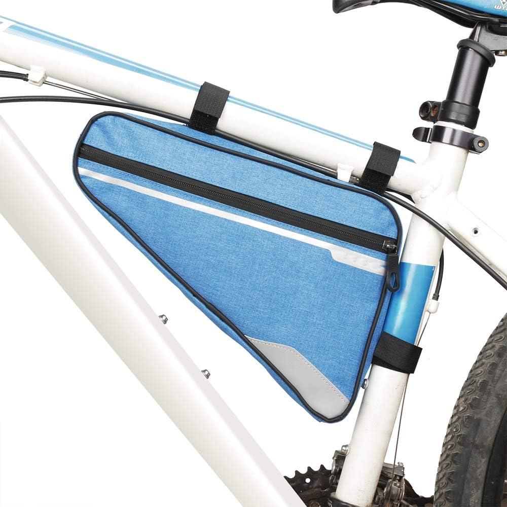 HLOEC Bolsa de Bicicleta Bolsas de Ciclismo MTB Tubo Delantero ...