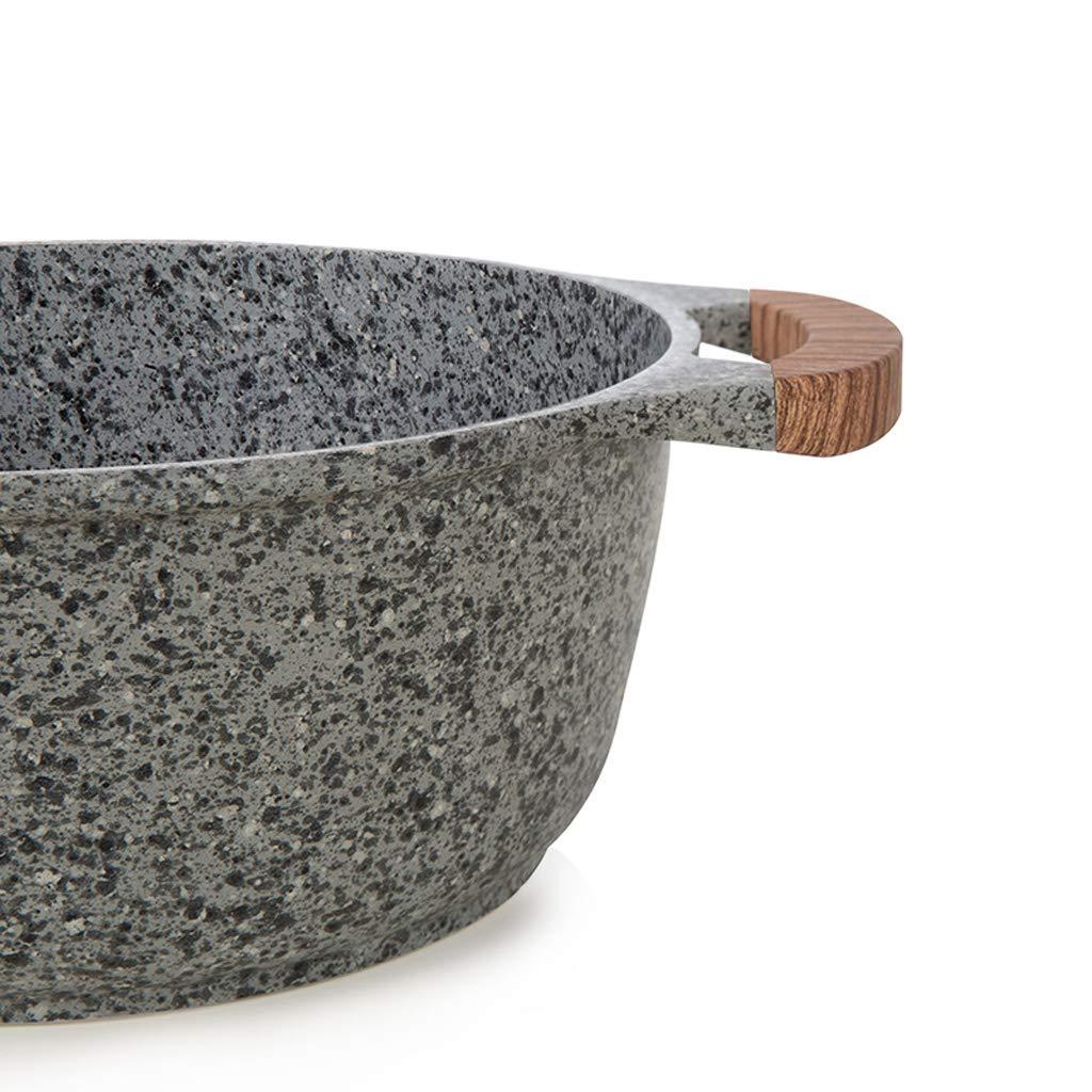 Olla antiadherente Maifanshi Sopa de olla Sopa de olla Profunda Olla de cocina Olla de cocina 20cm 24cm 28cm (tamaño : 20 inches): Amazon.es: Hogar