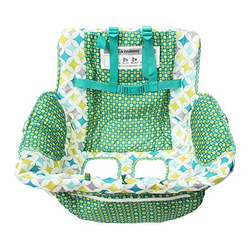 2 in 1 Shopping Cart and High Chair Cover for Baby and Toddlers - Folds into Pouch for Easy Carrying by HM Fulfillment (Image #5)