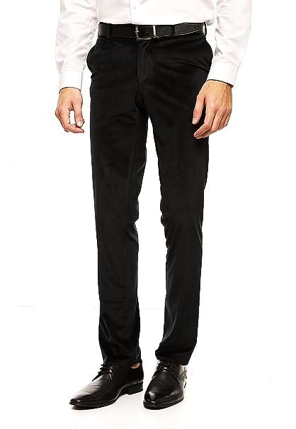 6d08d8e35856d Perry Ellis Pantalones Negros Pantalones para Hombre Negro Talla 36 ...