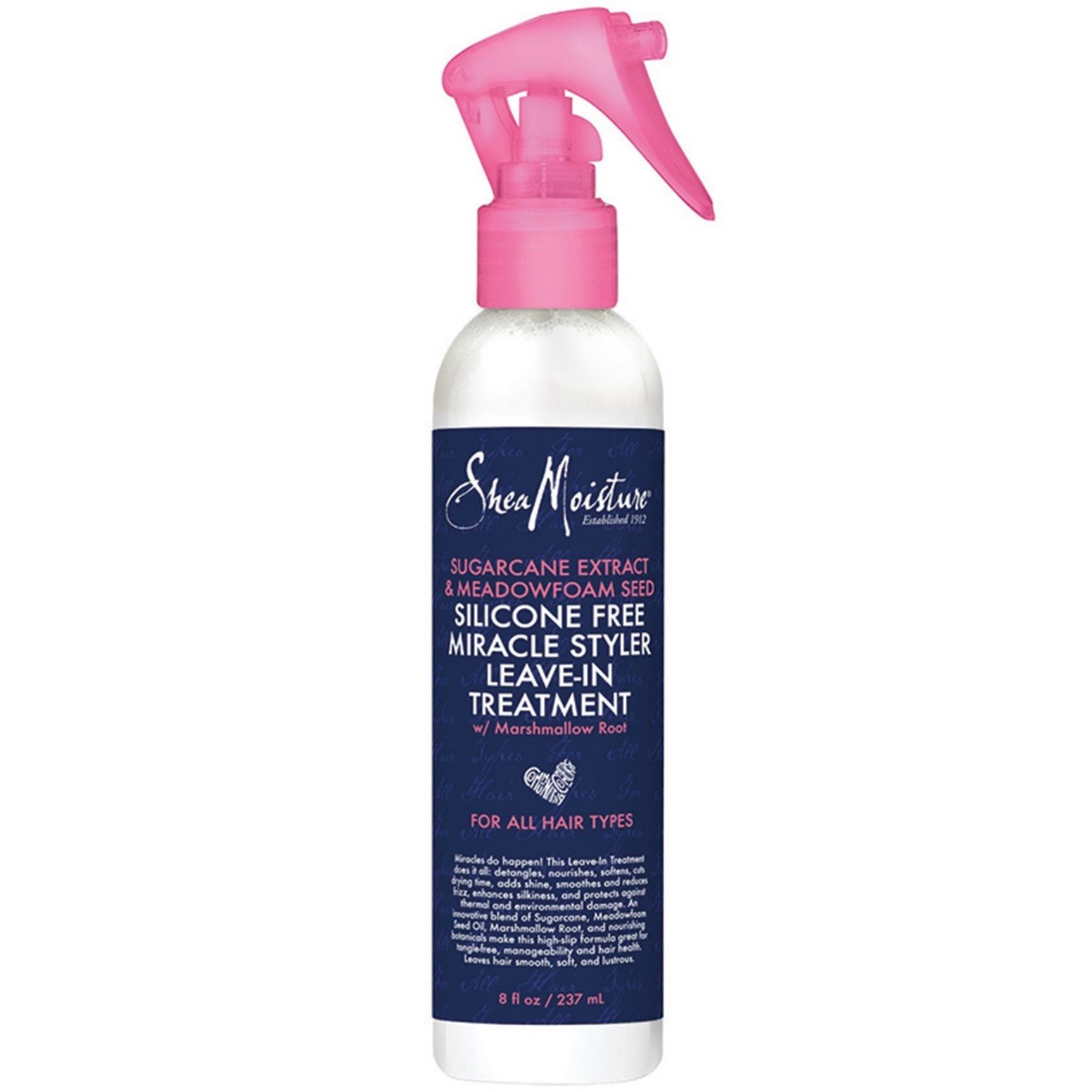 Shea Moisture Silicone Free Miracle Styler Leave-In Treatment - 8 fl oz by Shea Moisture (Image #1)
