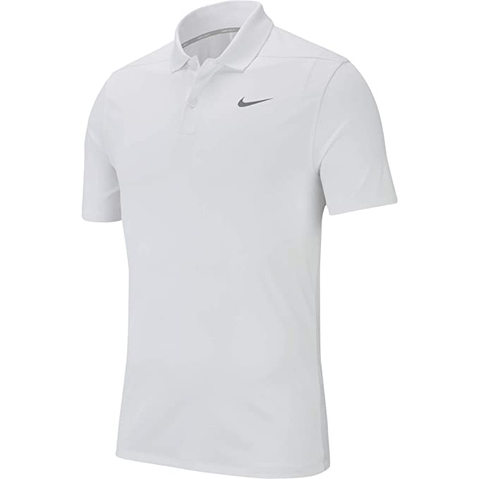 10b48dd47 Nike Men's Dry Victory Polo Solid Left Chest, University Blue/Black, Small