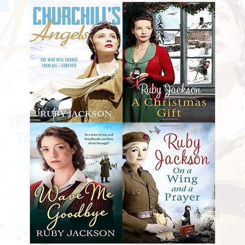 Ruby Jackson Churchills Angels Series 1 4 Collection 4 Books Bundle