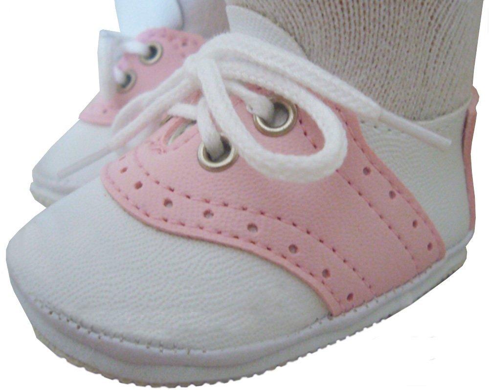 Zapatos de silla de montar rosa para el beb envio for Zapatos para sillas