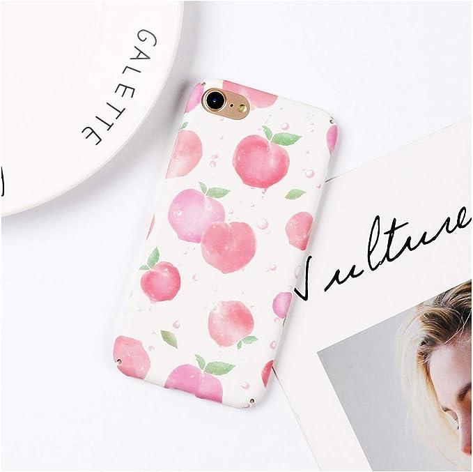 Coque de téléphone pour iPhone XS Max XR 6 6S 7 8 Plus X Fruits d ...