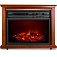 Air Choice Electric Fireplace 1500W Infrared Heater with Remote