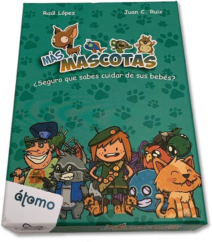 Átomo Games Más Mascotas. Juego de Cartas. Expansión Mascotas: Amazon.es: Juguetes y juegos