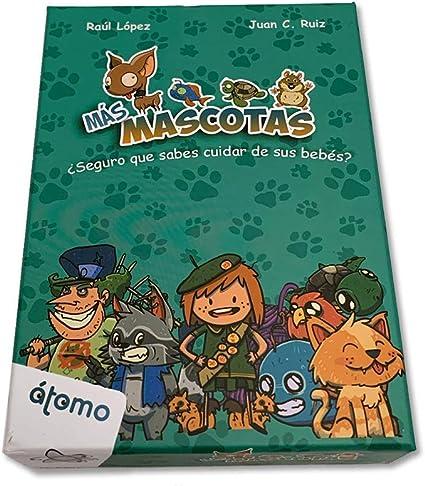 Átomo Games Más Mascotas. Juego de Cartas. Expansión Mascotas ...