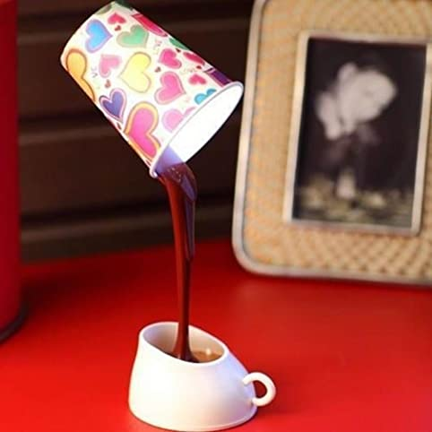 Heroneo novelty diy led table lamp home romantic pour coffee usb heroneoreg novelty diy led table lamp home romantic pour coffee usb battery night light mozeypictures Gallery