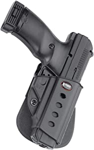 Fobus HPP Evolution Holster for Hi-Point .380.40.45, 9mm, Ruger American 9mm Compact, 9mm & .40 Full, P94, P95, P97 (with or Without Rail), SR45, Right Hand Paddle
