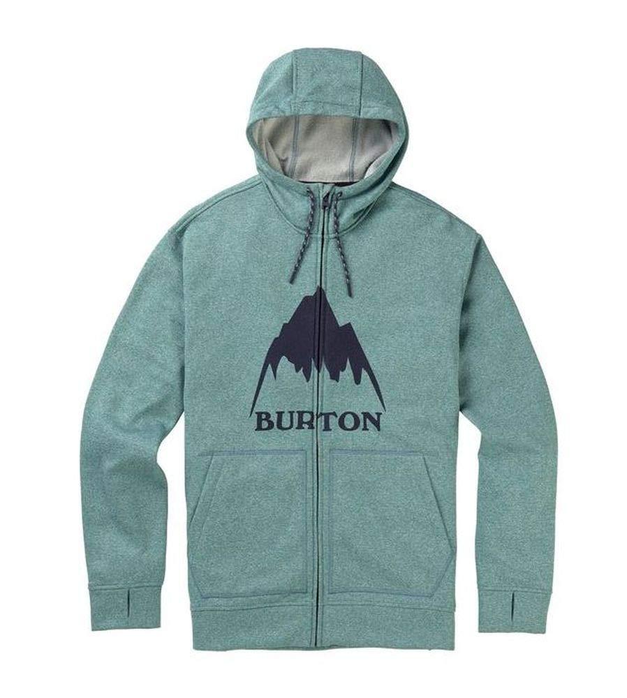 Burton Herren Sweatshirt, Oak Full Zip, Trellis Heather, Größe XL
