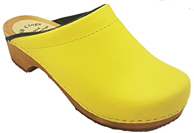 MB Clogs Original Schwedenclogs Damen clogs gelb
