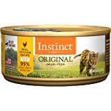 Nature's Variety Instinct by Original Grain Free Recipe Natural Wet Canned Cat Food