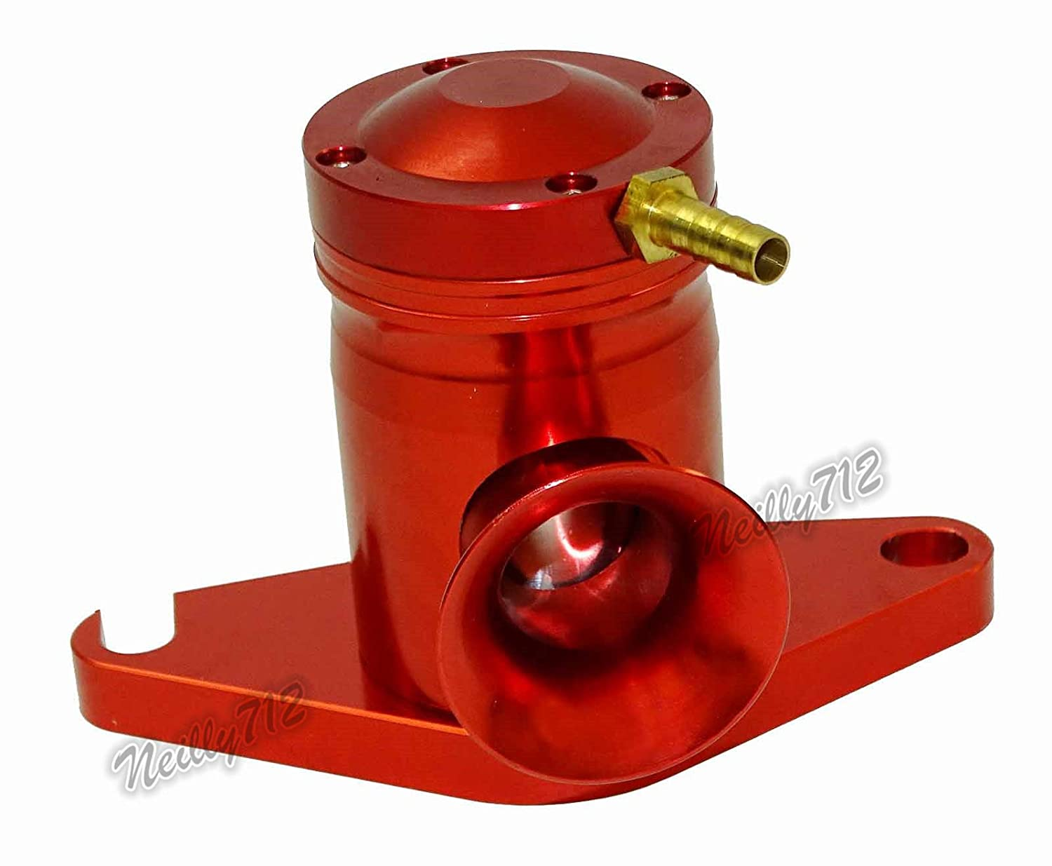 FidgetGear Red Bolt-On Bov Blow Off Dump Valve for Subaru WRX STI GD/GG Forester XT EJ20/25