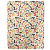 Animals On Our Farm Fitted Sheet: Twin Luxury Microfiber, Soft, Breathable