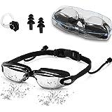 Xnature Schwimmbrillen für Erwachsene, Taucherbrille Erwachsene Schwimmbrille mit Antibeschlag und UV Schutz für Männer Frauen Kinder Schwimmbrille Herren Swimming Goggles