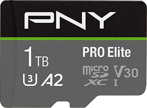Pny Pro Elite 1tb Microsdxc Memory Card Sd Adapter Computers Accessories