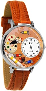product image for Whimsical Watches Unisex U0410002 Artist Tan Leather Watch