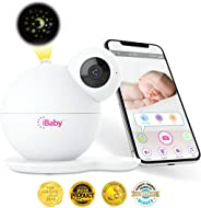 iBaby M7 Baby Monitor 1080P with Thousands of lullabies & Bed Stories, Motion and Cry Alert, Temperature & Humidity Sensors,